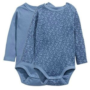 2 piece H&M baby boy bodysuit